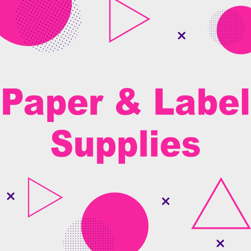 Paper and Label Supplies